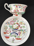 HILDITCH 'Lady with lyre' cup & saucer (2)